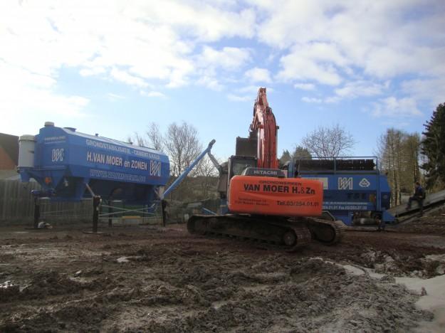 Nieuwe on-site stabilisatiemachine