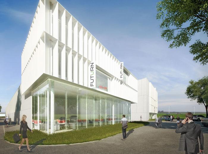 Nieuw project : Businesspark 16, Melsele